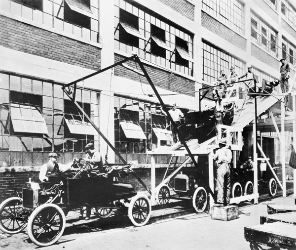 NCB Marking Ford Assembly Line